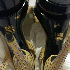 Jessica Simpson Shoes - Jessica Simpson platform rhinestone heels